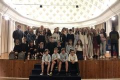 Foto de grupo de los finalistas de Aragón XXXVIIIª Edición