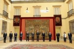 Su Majestad el Rey con los miembros del Patronato de FIES y Fundación Orange. Audiencia 39ª Edición,   © Casa de S.M. el Rey.