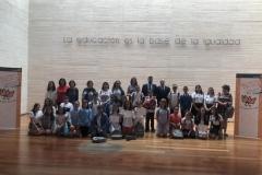 Finalistas de Castilla la Mancha XXXVIII Edición, foto de grupo