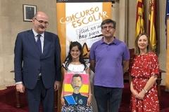 Baleares, XXXVIII Edición, la ganadora con las Autoridades