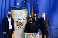 El ganador de Galicia 2021 con autoridades