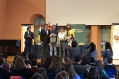 Finalista de Rioja XXXXVIII Edición con las Autoridades